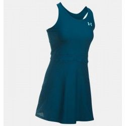 Vestido para padel o tenis Under Armour Center Court Azul marino