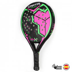 Pala padel Cartri Galaxy Pink 2 lateral 2020