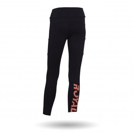 Legging padel largo de Royal Padel color negro