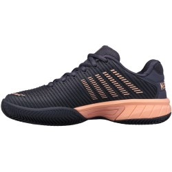 Zapatillas Padel Mujer Negro/gris y rosa | Kswiss Hypercourt Express 2HB Jr.