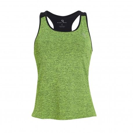 d845abcd6af95 camiseta padel chica nadadora mujer verde tirantes tul negro overskin