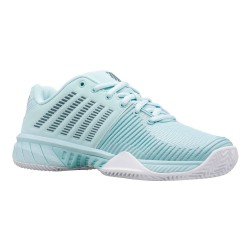 Zapatillas Padel Mujer verde gris oscuro| KSwiss Express Ligth 2