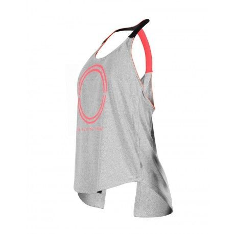 Camiseta pádel mujer NEON Mistra gris